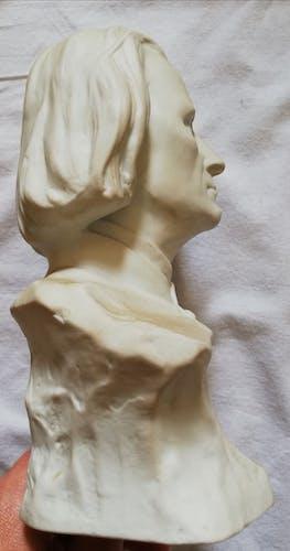 Liszt bust by Nannini