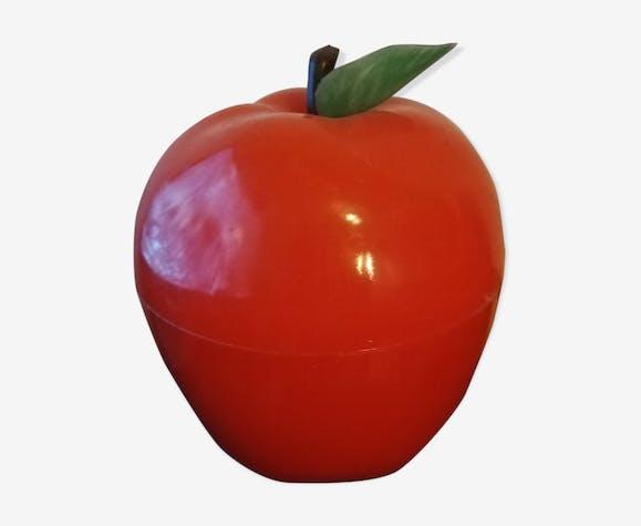 Seau à glaçons pomme orange