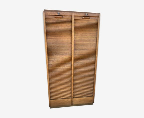 Furniture of notary curtain binder 1950 solid oak