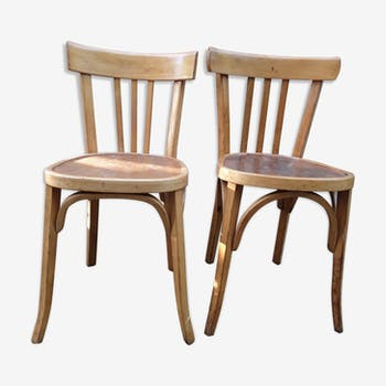 Pair of chairs bistro