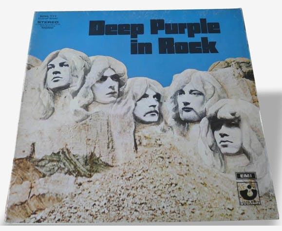 Disque vinyle 33T Deep Purple: In Rock