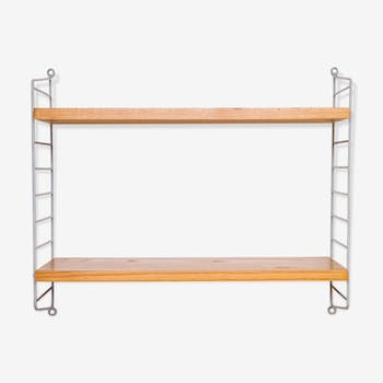 String shelf with grey ladders by Nisse Strinning for String 1960s