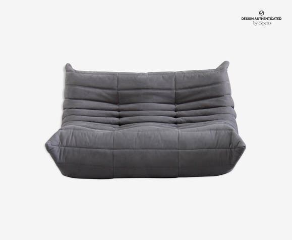 Togo sofa 2 places microfibre by Michel Ducaroy for Ligne Roset