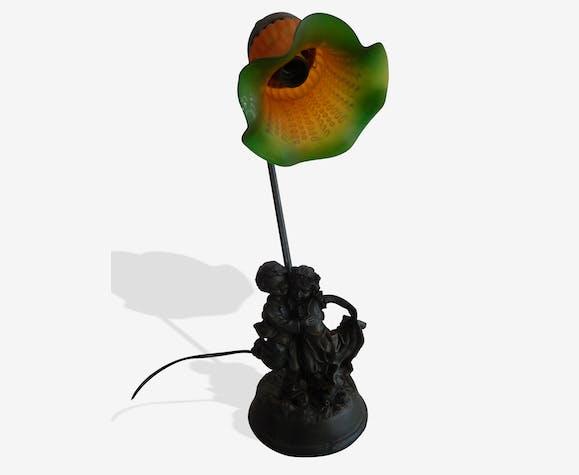 Dansent Qui Personnages Deco Art Céramique Style Lampe GjLUzSpqMV