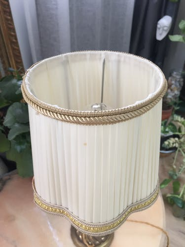 Lampe en bronze, style Empire