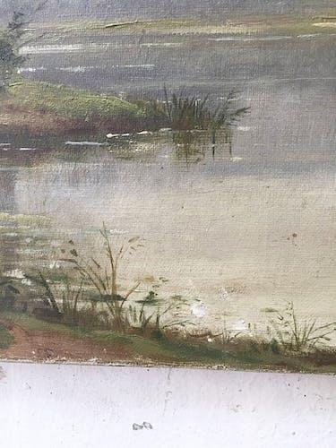 Toile à l'huile paysage