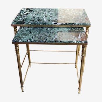 tables gigognes vintage d 39 occasion. Black Bedroom Furniture Sets. Home Design Ideas