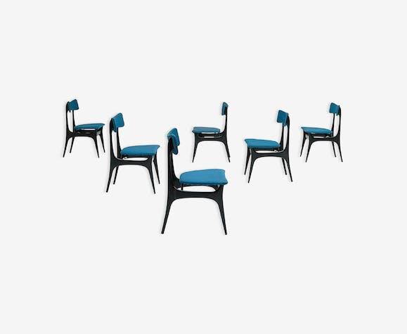 Set  de 6 chaises Alfred Hendrickx pour belform