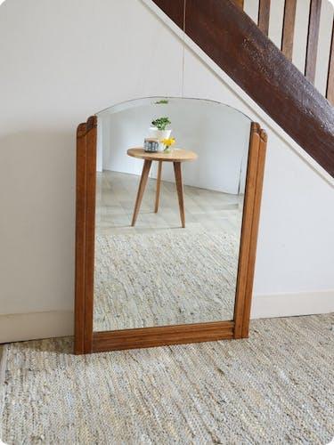 """Miroir art déco """"tihuanaco"""""""