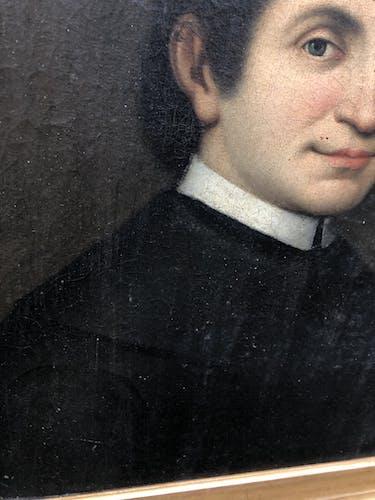 Portrait d'un jeune homme xixeme siècle