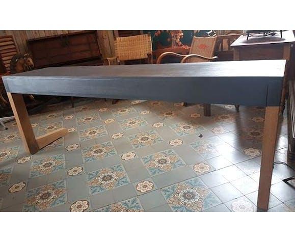 Old Office Desk 3 Seats Vintage Selency