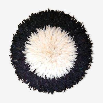 Juju hat noir et blanc 60/65 cm