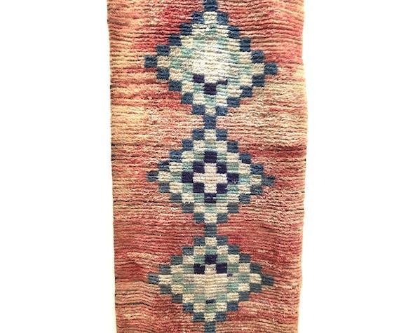 Tapis berbère marocain boujaad 292x90cm