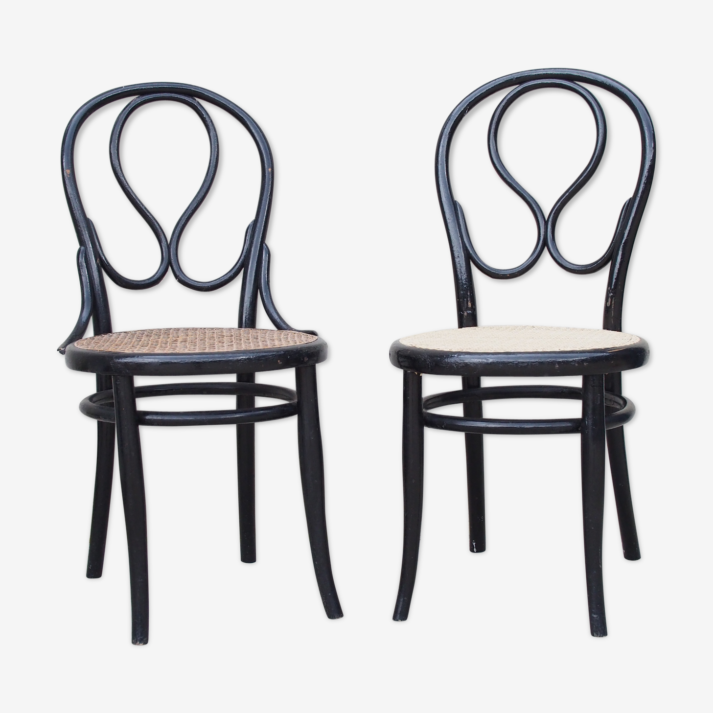 Chaises cannées Thonet Omega n°20