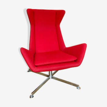 Red armchair design-FREE by Marco Maran-Parri