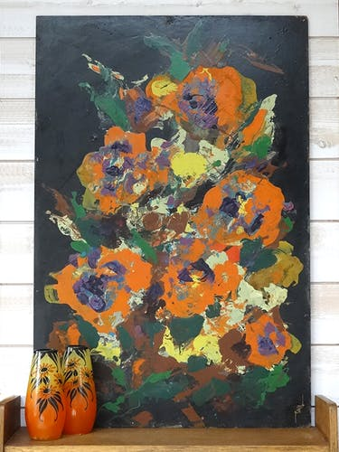 """Table by Pierre Piget """"Flower Bouquet"""""""