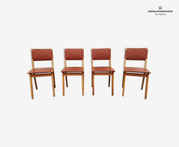 Series 4 jens risom for knoll chairs