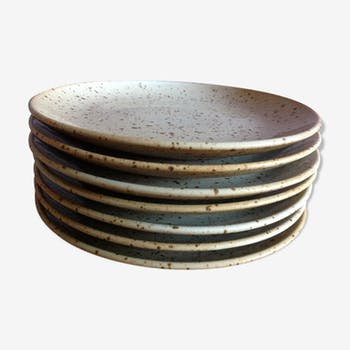 Sandstone dessert plate series
