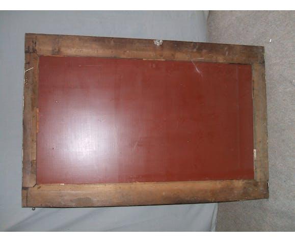 Miroir oriental XIXème 89x137cm