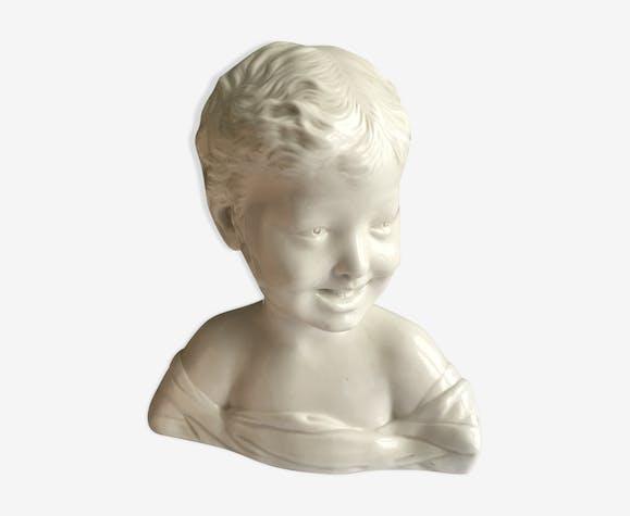 Buste enfant rieur