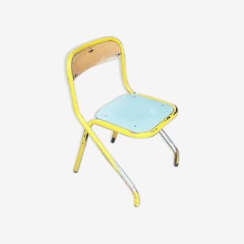 Chaise d'écolier années 50