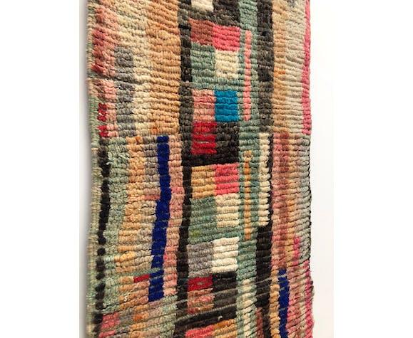 Tapis berbère marocain boujaad 297x97cm