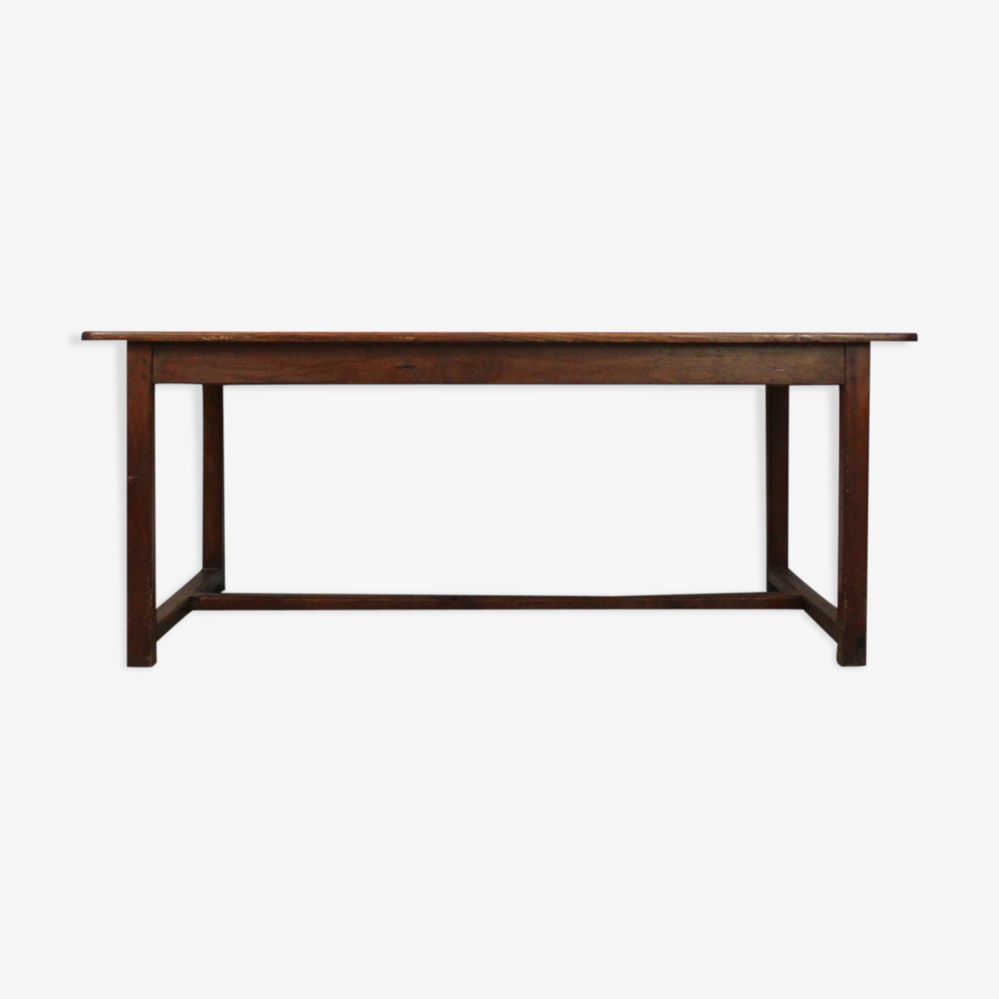 Table en bois des années 1940