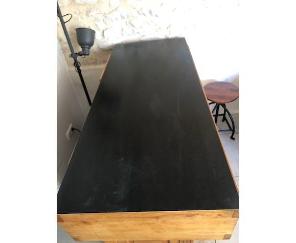 Ancien comptoir de boucher