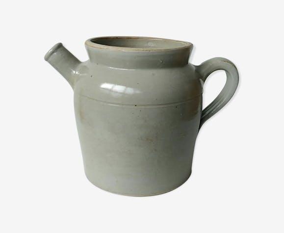 Ancien pot en grès cruche jarre