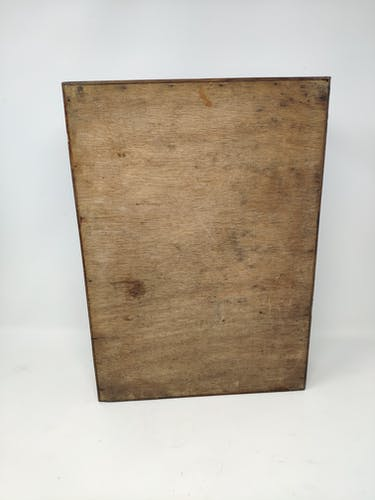 Wooden document holder