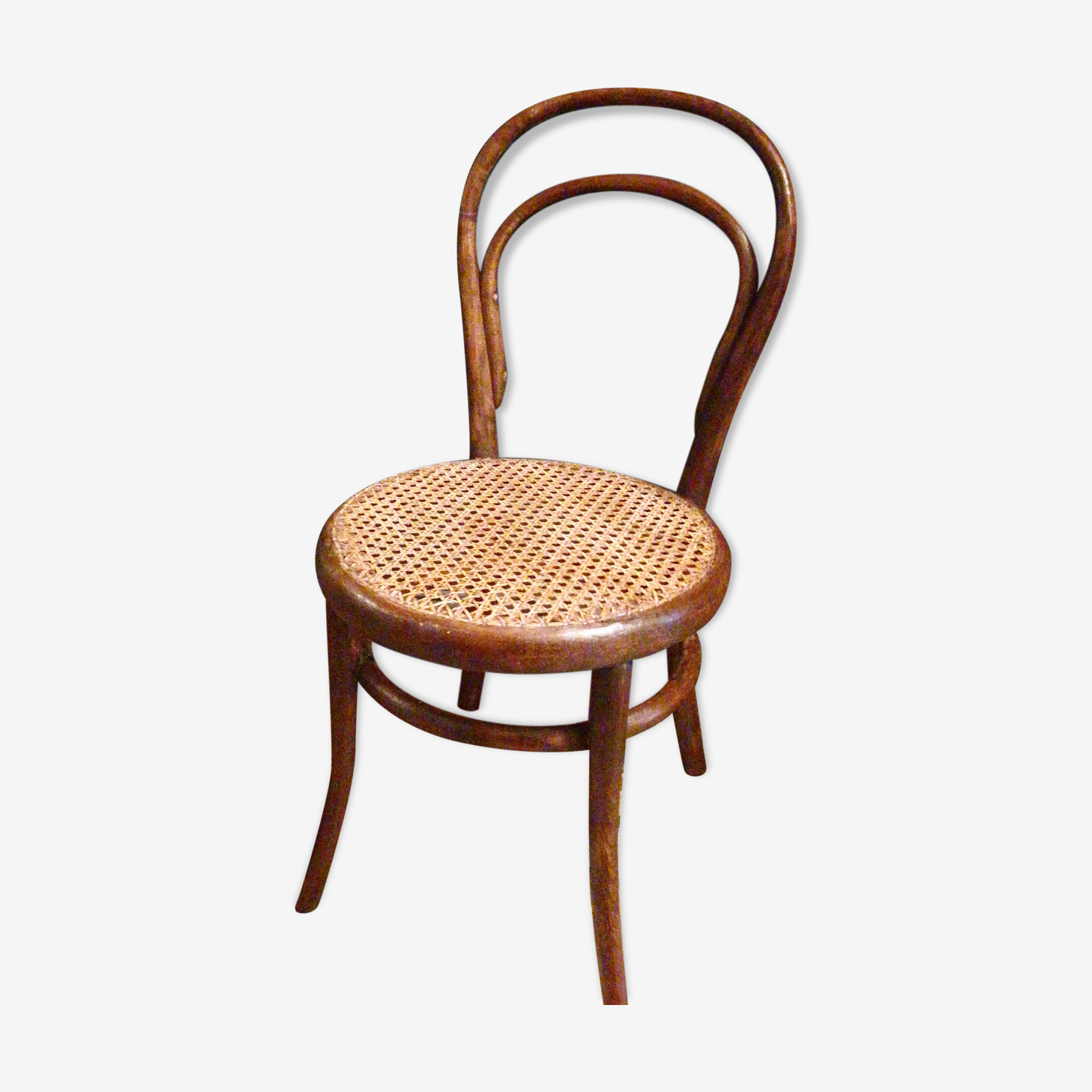 Chaise basse bistrot signée thonet