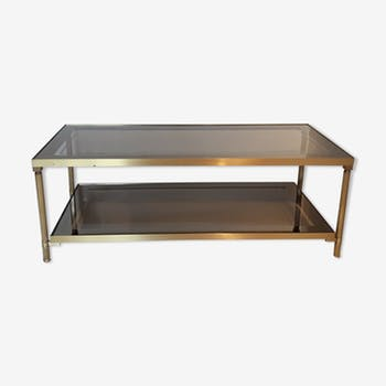 Table basse laiton