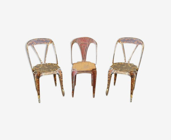 Lot of multipl's chairs design Joseph Mathieu