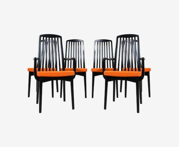 Set Of 6 Vintage Dining Chairs 1960s