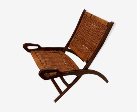 """Chaise pliante, modèle """"Ninfea"""" par Gio Ponti"""