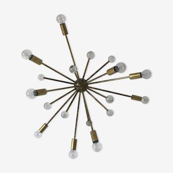 Applique italienne sputnik des années 60-70