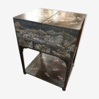 Bureau secr taire coiffeuse vintage d 39 occasion for Meuble asiatique occasion