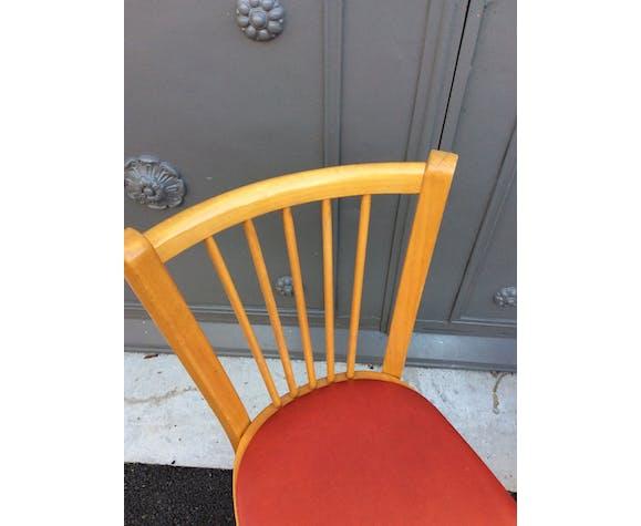 2 chaises Baumann vintage