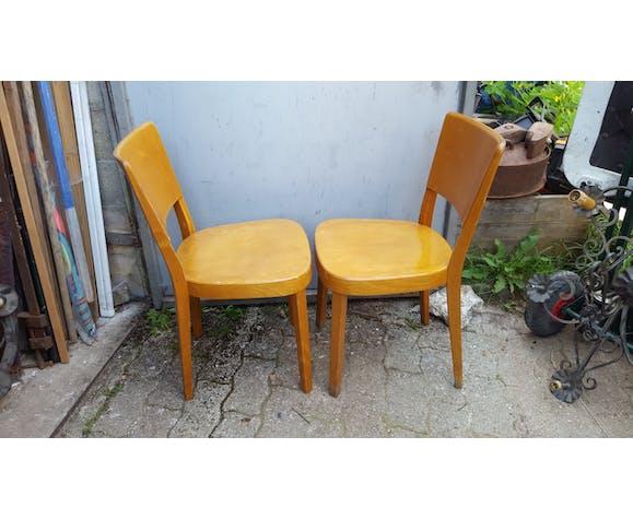 Paire de chaises de bar années 50