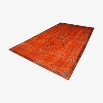 150x270cm orange carpet