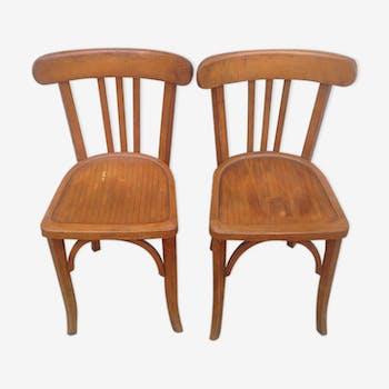 Duo de chaises Bauman