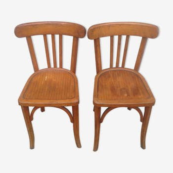 Pair of chairs Bauman