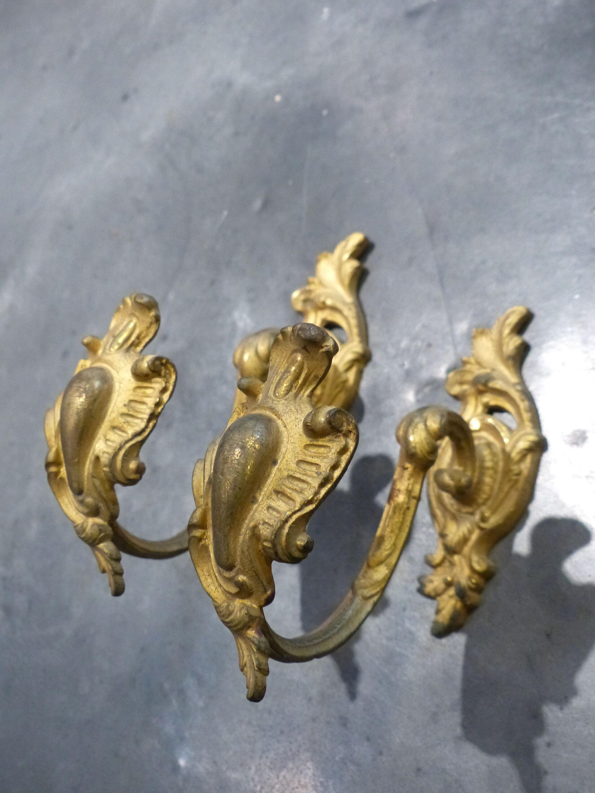 Embrases /à rideaux Dor/é Antique