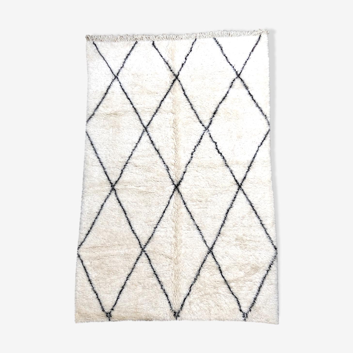 Tapis berbère marocain beni ouarain marmoucha 327x204cm