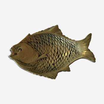 Vide poche poisson en laiton