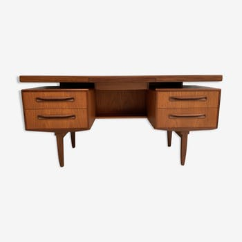 Vintage teak G-Plan desk by V.Wilkins 1960's