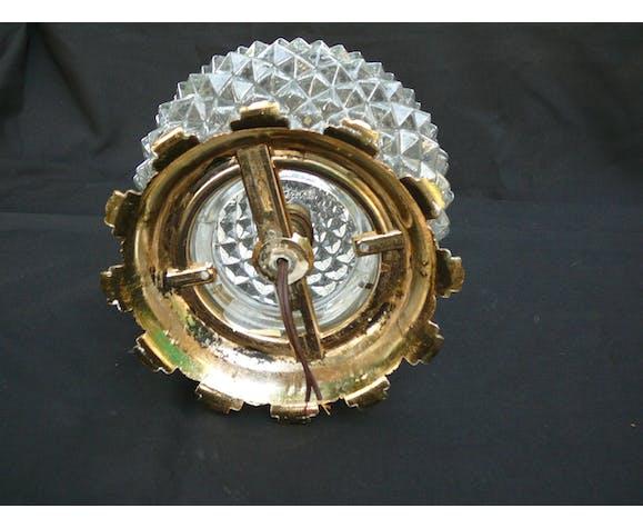 Plafonnier vintage pointes de diamant