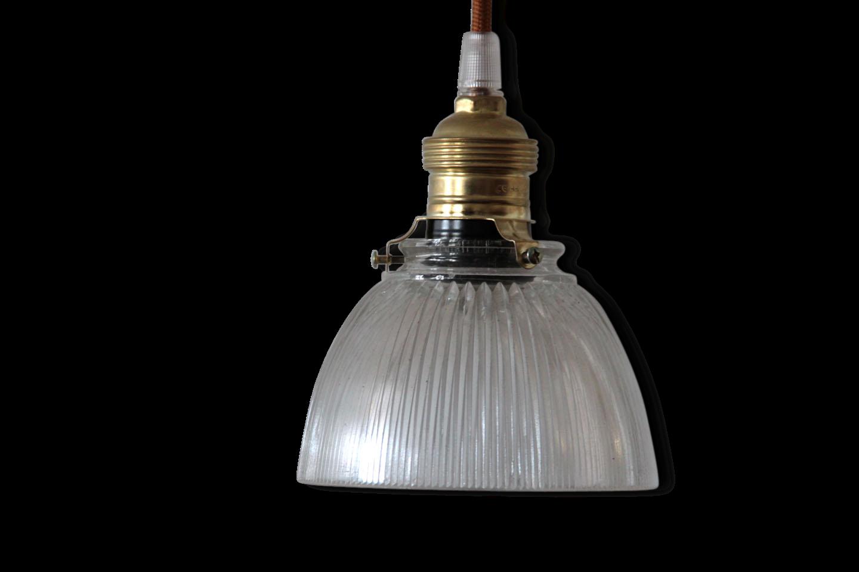 Cheap Suspension Petite Lampe Luminaire En Verre Ancien Stri With Luminaire  En Verre Suspension