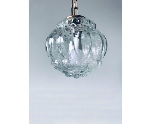 Vintage glass ball suspension