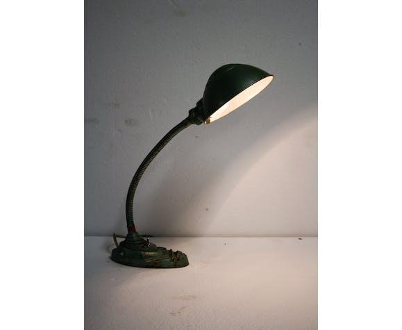 Lampe de table art déco gooseneck par Erpe années 1930